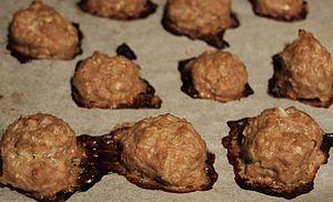 Moldovan cuisine - Image: Baked meatballs