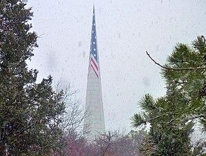 Farmingville, New York - Vietnam Memorial on Bald Hill
