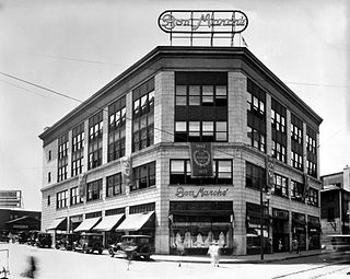 The Bon Marché Building of Asheville, North Carolina building in North Carolina, United States