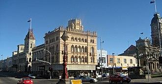 Goldfields region of Victoria - Image: Ballarat lydiard sturt