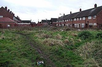 Greatfield Estate, Kingston upon Hull - Image: Bamford Avenue, Greatfield geograph.org.uk 303519