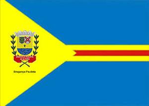Bragança Paulista - Image: Bandeira de Bragança Paulista