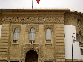 Bank Al-Maghrib the central bank of Morocco, founded in 1959