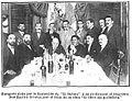 Banquete dado por la redacción de El Debate a su exdirector Basilio Álvarez, 1912.jpg