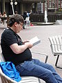 Barbican Lakeside on Wikimania 2014 Friday afternoon 01.jpg