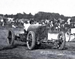 Readville Race Track - Barney Oldfield and the Green Dragon, Readville Race Track Sept 9, 1905