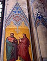 Barth Marienkirche - Fresko 3 Apostel.jpg
