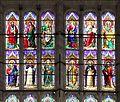 Bartolomeo di pietro e mariotto di nardo, vetrata del presbiterio di s. domenico a perugia, 02.jpg