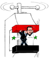 Bashar al-Assad under pressure.png
