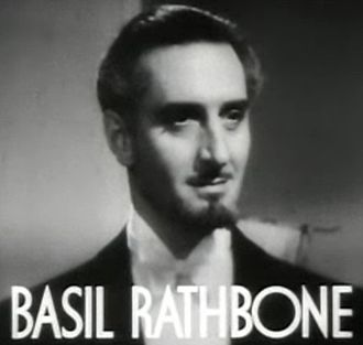 Basil Rathbone - from the trailer for the film Tovarich (1937)