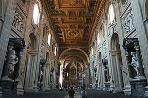 Basilica - St. John in the Lateran is both an architectural and an ecclesiastical basilica