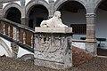 Bastie d'Urfé-Piédestal de la statue du sphinx-20160316.jpg