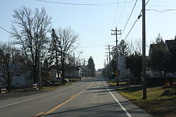 Looking south in downtown Batavia along WIS 28