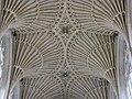 Bath Abbey, details of the ceiling. Ажурный потолок. - panoramio.jpg