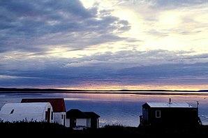 Abendstimmung am Bathurst Inlet
