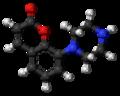 Batoprazine molecule ball.png