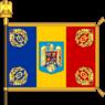 Battle flag of Romania (Gendarmerie model).png