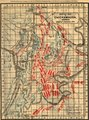 Battle map of Chickamauga, Georgia. Saturday 19 (and) Sunday, 20 September 1863. Map of the Chattanooga battle-fields, November, 1863. Orchard Knob, 23d, Lookout Mountain, 24th, Missionary Ridge, LOC 99447312.tif