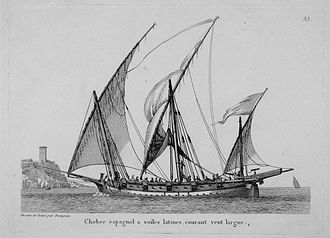 Hemmema - A Spanish xebec from the 1810s; the xebec's design inspired the design of the archipelago frigates