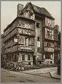 Bayeux Vielle Maison De La Rue Saint-Martin-Old house in Rue St. Martin, Bayeux, France LCCN96509964.jpg