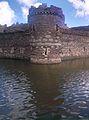 Beaumaris Castle Tower and Moat.jpg