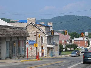 Bedford, Pennsylvania - Fraser Tavern, opened in 1758