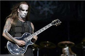 Adam Nergal Darski from Behemoth.