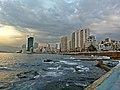 Beirut Corniche from University Tower.jpg