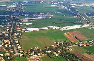 Beit Elazari - Image: Beit Elazari Aerial View