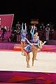 Belarus Rhythmic gymnastics team 2012 Summer Olympics 06.jpg