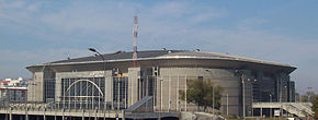Belgrade Arena south-east