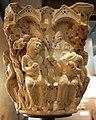 Benedetto antelami, capitello con storie della genesi 01, dal duomo di parma, 1178, peccato originale.jpg