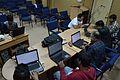 Bengali Wikipedia Editathon - Bengali Wikipedia 10th Anniversary Celebration - Jadavpur University - Kolkata 2015-01-10 3182.JPG