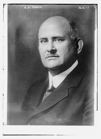 Benjamin Bowditch Thayer - Benjamin Bowditch Thayer circa 1915