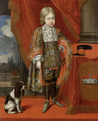 Joseph I, Holy Roman Emperor - Archduke Joseph at the age of six (by Benjamin Block, 1684)