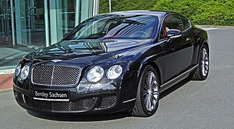 Bentley Continental GT - Bentley Continental GT Speed