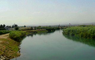 Berdan River Turkish river