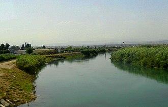 Berdan River - Berdan River from the south