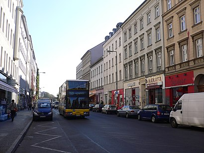 How to get to Oranienstraße with public transit - About the place