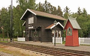 Norwegian Railway Museum - Image: Bestum stasjon Jernbanemuseet