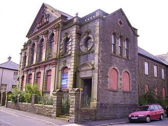 Ton Pentre - Bethesda Chapel in 2008