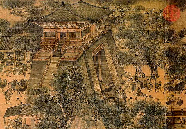 city gate of the Northern Song capital Bianjing