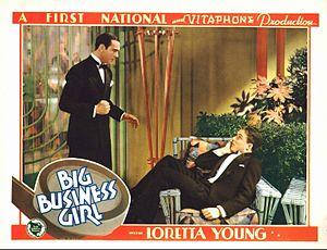 Big Business Girl - Lobby card