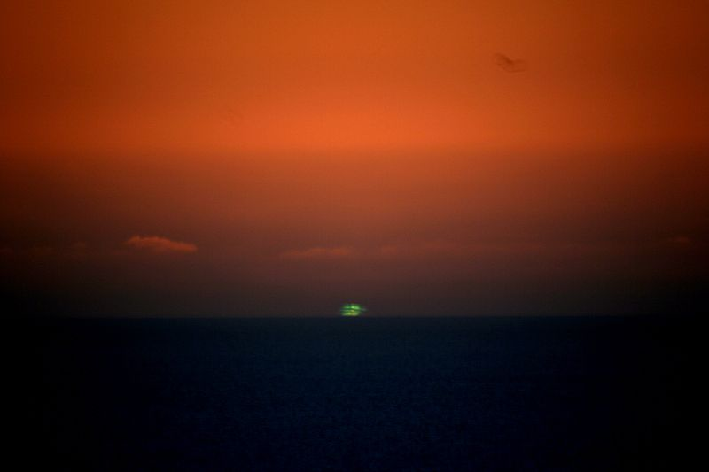 Ever heard of the green flash?