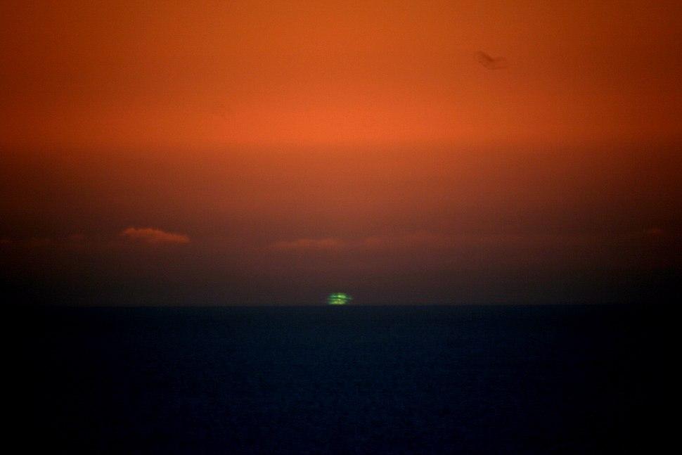Big green flash