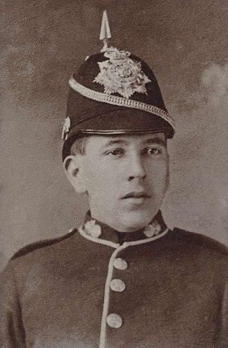 Billy Hughes - Hughes in his Royal Fusiliers uniform.