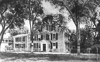 Oliver Wendell Holmes Sr. - Birthplace of Oliver Wendell Holmes in Cambridge