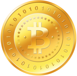 Digital currency - Unofficial bitcoin logo