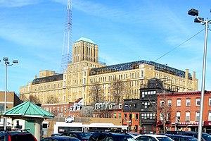 Brooklyn Technical High School - Brooklyn Tech as seen from Ashland Place in Fort Greene