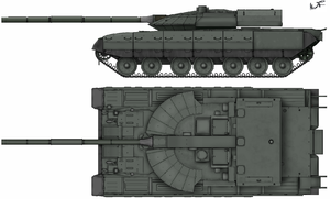 Чёрный орёл (танк) — Википедия